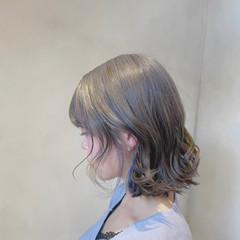 ラベンダーピンク ブリーチオンカラー ナチュラル インナーカラー ヘアスタイルや髪型の写真・画像