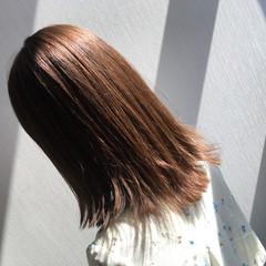 セミロング ナチュラル 外国人風カラー インナーカラー ヘアスタイルや髪型の写真・画像
