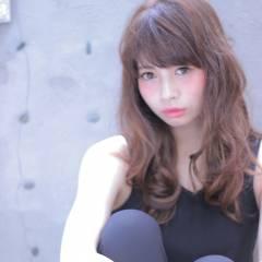 大人かわいい セミロング パンク フェミニン ヘアスタイルや髪型の写真・画像