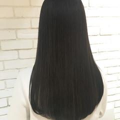 艶髪 ロング トリートメント 縮毛矯正 ヘアスタイルや髪型の写真・画像