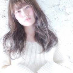 ガーリー 透明感 モテ髪 ロング ヘアスタイルや髪型の写真・画像