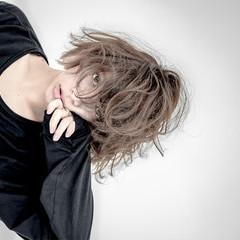 モード ボブ パーマ ヘアスタイルや髪型の写真・画像
