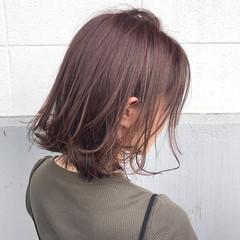 秋 アンニュイ アッシュ 透明感 ヘアスタイルや髪型の写真・画像