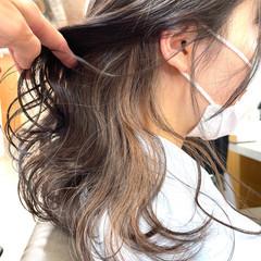 ブリーチ インナーカラー ブリーチオンカラー ブリーチ無し ヘアスタイルや髪型の写真・画像