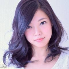 フェミニン ミディアム ガーリー 卵型 ヘアスタイルや髪型の写真・画像