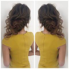 切りっぱなしボブ ヘアアレンジ 簡単ヘアアレンジ インナーカラー ヘアスタイルや髪型の写真・画像
