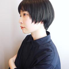 大人かわいい モテ髪 大人ショート ナチュラル ヘアスタイルや髪型の写真・画像