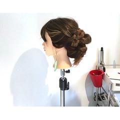 アウトドア 女子会 ヘアアレンジ デート ヘアスタイルや髪型の写真・画像