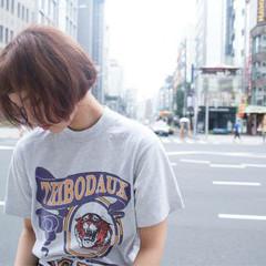 ピュア フェミニン パーマ ストリート ヘアスタイルや髪型の写真・画像