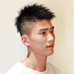 メンズカラー メンズ ショート メンズヘア ヘアスタイルや髪型の写真・画像