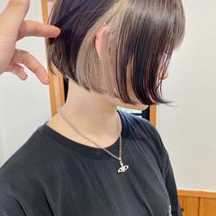 ショートヘア ミニボブ ショートボブ ボブ ヘアスタイルや髪型の写真・画像