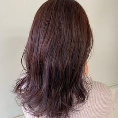 ヘアカラー ヘアアレンジ 巻き髪 ナチュラル ヘアスタイルや髪型の写真・画像