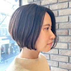 アンニュイほつれヘア ハンサムショート ナチュラル ショート ヘアスタイルや髪型の写真・画像