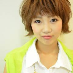 ショート 大人かわいい コンサバ 秋 ヘアスタイルや髪型の写真・画像