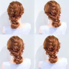 パーティ 上品 ヘアアレンジ エレガント ヘアスタイルや髪型の写真・画像