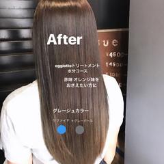 oggiotto 透明感カラー アディクシーカラー ロング ヘアスタイルや髪型の写真・画像