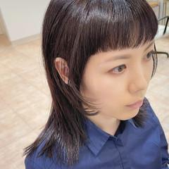 姫カット レイヤー モード 前髪パッツン ヘアスタイルや髪型の写真・画像