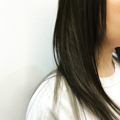 リラックス ロング 外国人風 モード ヘアスタイルや髪型の写真・画像