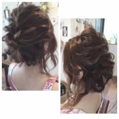 外国人風 ナチュラル 結婚式 ハイライト ヘアスタイルや髪型の写真・画像