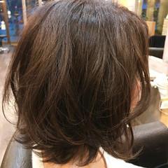 春 フェミニン オリージュ 内巻き ヘアスタイルや髪型の写真・画像