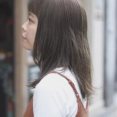 グレージュ デート オルチャン オフィス ヘアスタイルや髪型の写真・画像