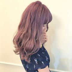 アンニュイ フェミニン 雨の日 ミルクティー ヘアスタイルや髪型の写真・画像