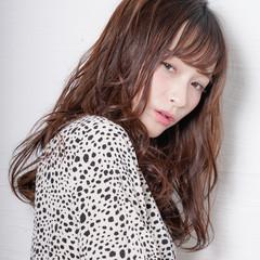 大人かわいい エレガント セミディ ロングヘアスタイル ヘアスタイルや髪型の写真・画像