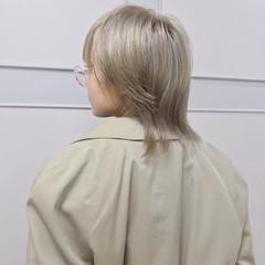 ブリーチ モード ミディアム ハイトーン ヘアスタイルや髪型の写真・画像