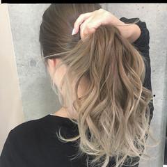 ロング エレガント 上品 春 ヘアスタイルや髪型の写真・画像