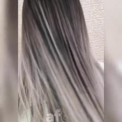 ロング 成人式 外国人風 ストリート ヘアスタイルや髪型の写真・画像