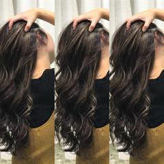 上品 ロング ヘアアレンジ エレガント ヘアスタイルや髪型の写真・画像