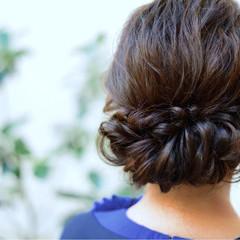 ロング ヘアアレンジ 大人かわいい 抜け感 ヘアスタイルや髪型の写真・画像