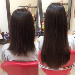 韓国ヘア エクステ 夏 大人カジュアル ヘアスタイルや髪型の写真・画像