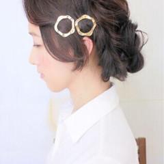 大人女子 結婚式 ヘアアレンジ パーティ ヘアスタイルや髪型の写真・画像