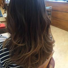 ブラウンベージュ かっこいい 透明感 黒髪 ヘアスタイルや髪型の写真・画像