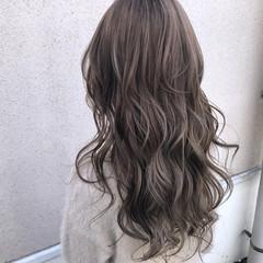 外国人風カラー ハイトーン ロング 透明感 ヘアスタイルや髪型の写真・画像