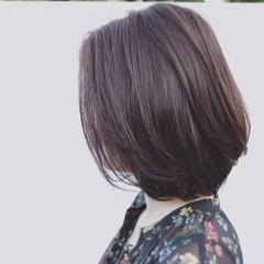 ナチュラル リラックス 梅雨 暗髪 ヘアスタイルや髪型の写真・画像