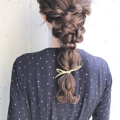 ロング 簡単ヘアアレンジ ヘアアレンジ お呼ばれ ヘアスタイルや髪型の写真・画像