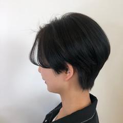 ナチュラル ハンサムショート ショートヘア ショート ヘアスタイルや髪型の写真・画像