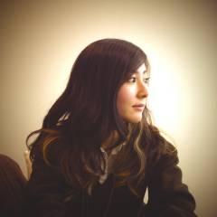 アッシュ セミロング 秋 グラデーションカラー ヘアスタイルや髪型の写真・画像