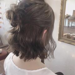 女子会 結婚式 アッシュ デート ヘアスタイルや髪型の写真・画像