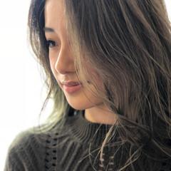 3Dカラー イルミナカラー 外国人風カラー ナチュラル ヘアスタイルや髪型の写真・画像