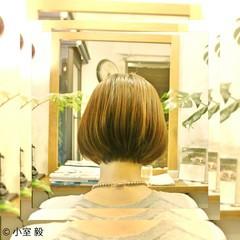 ナチュラル ショート ボブ 大人女子 ヘアスタイルや髪型の写真・画像