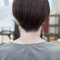 ショートカット マッシュショート ショート 小顔ショート ヘアスタイルや髪型の写真・画像