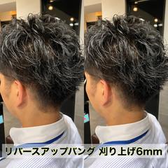 ナチュラル 刈り上げ メンズ メンズカット ヘアスタイルや髪型の写真・画像