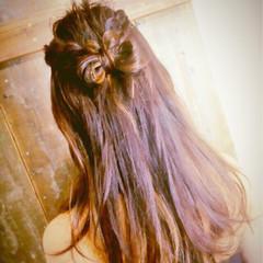 ガーリー ヘアアレンジ ロング 大人女子 ヘアスタイルや髪型の写真・画像