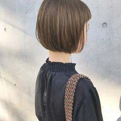 大人かわいい 外国人風 ナチュラル 前下がり ヘアスタイルや髪型の写真・画像