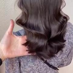 オルチャン 西海岸風 韓国風ヘアー くびれカール ヘアスタイルや髪型の写真・画像