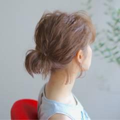 ナチュラル 大人かわいい 波ウェーブ 春 ヘアスタイルや髪型の写真・画像