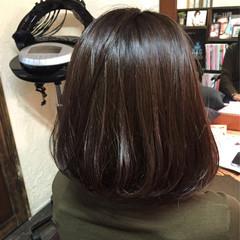 グレージュ ワンレングス ローライト ストリート ヘアスタイルや髪型の写真・画像